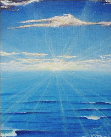 サンライズⅡ[海の絵・波の ...